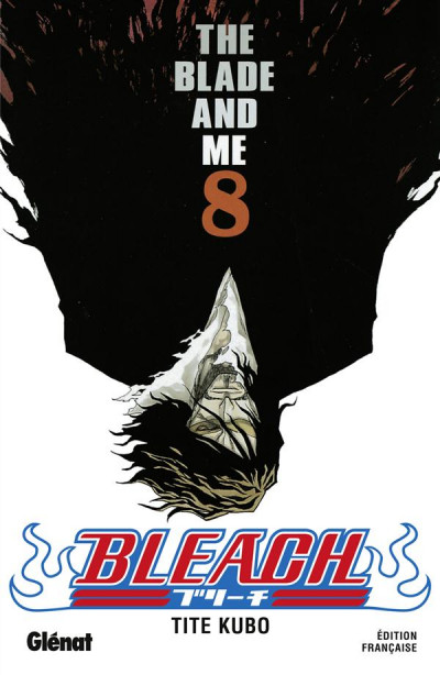Couverture bleach tome 8 - the blade and me