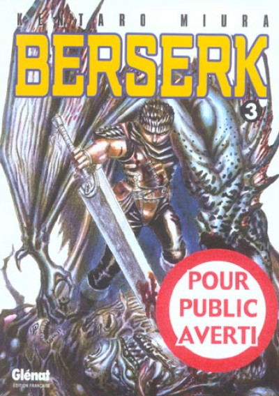 Couverture berserk tome 3