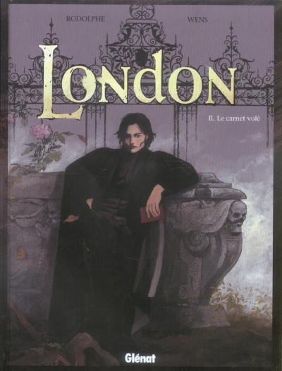 image de london tome 2 - le carnet volet