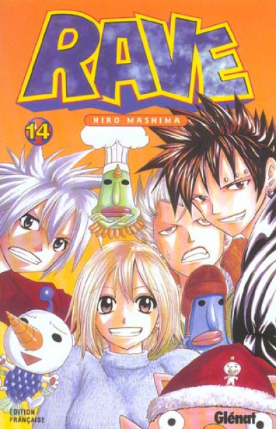 Couverture rave tome 14