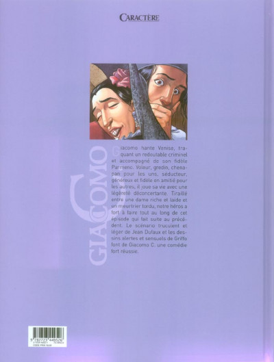 Dos giacomo c. tome 8 - la non-belle