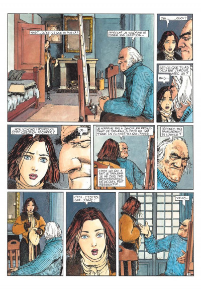 Page 2 le maître de peinture tome 3 - premier concert