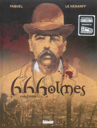Couverture h.h.holmes tome 1 - englewood