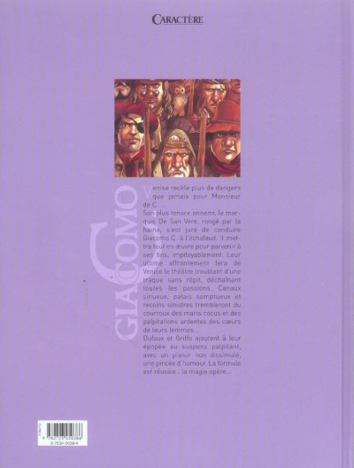 Dos giacomo c. tome 15 - la chanson des guenilles