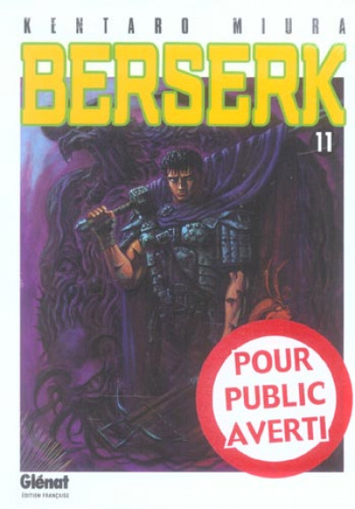 Couverture berserk tome 11