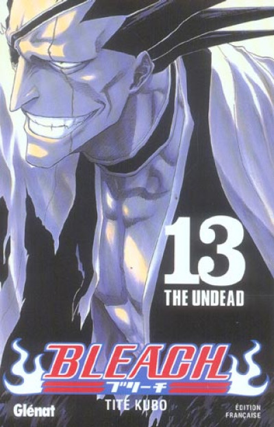 Couverture bleach tome 13 - the undead