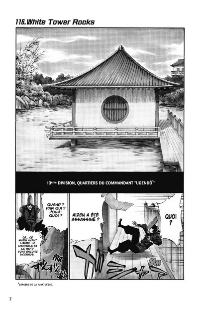 Page 8 bleach tome 14 - white tower rocks