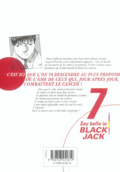 Dos say hello to black jack tome 7