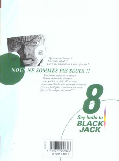 Dos say hello to black jack tome 8