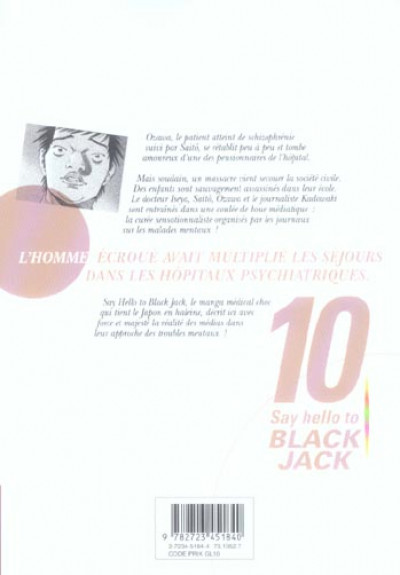 Dos say hello to black jack tome 10