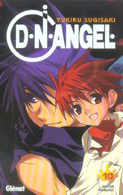 Couverture d.n.angel tome 10