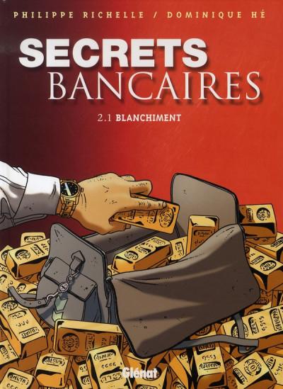 Couverture secrets bancaires tome 2.1 - blanchiment