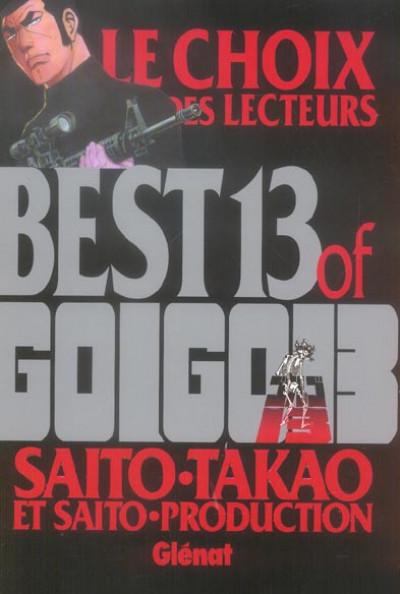 Couverture best 13 of golgo 13 ; le choix des lecteurs