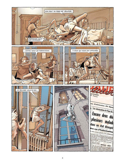 Page 5 le mal tome 1 - l'oeil du mur