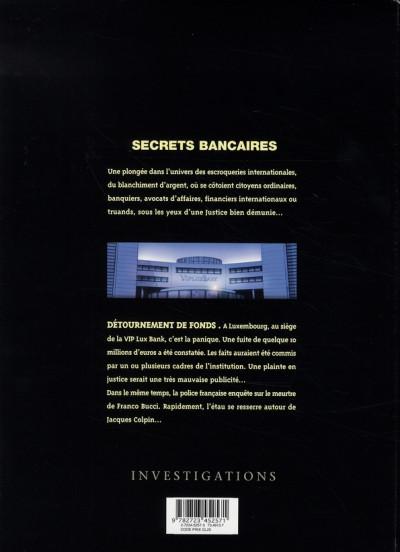 Dos secrets bancaires tome 1.2 - détournement de fonds