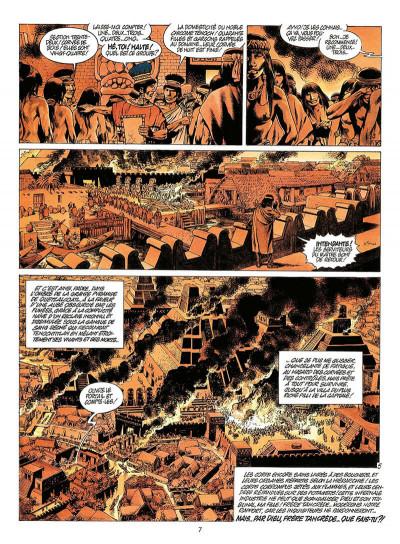 Page 0 quetzalcoatl tome 3 - les cauchemars de moctezuma