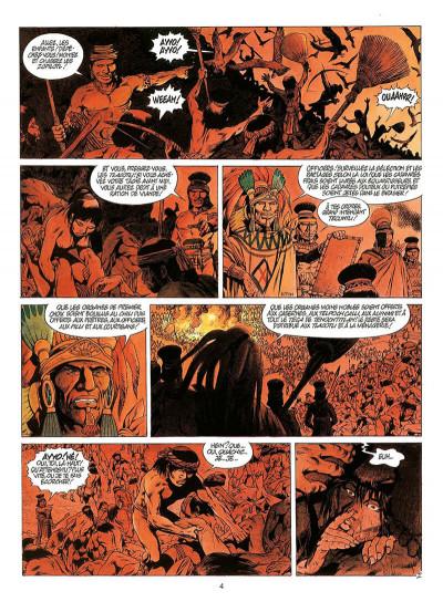 Page 7 quetzalcoatl tome 3 - les cauchemars de moctezuma