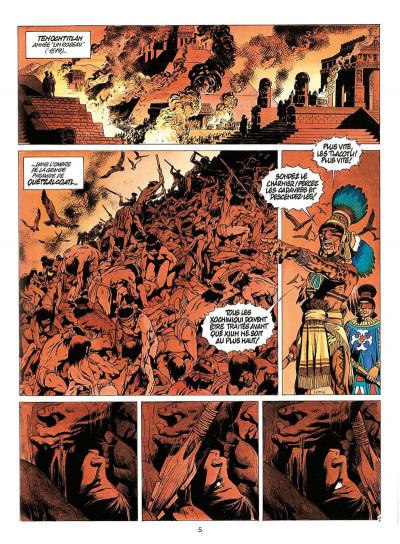 Page 8 quetzalcoatl tome 3 - les cauchemars de moctezuma