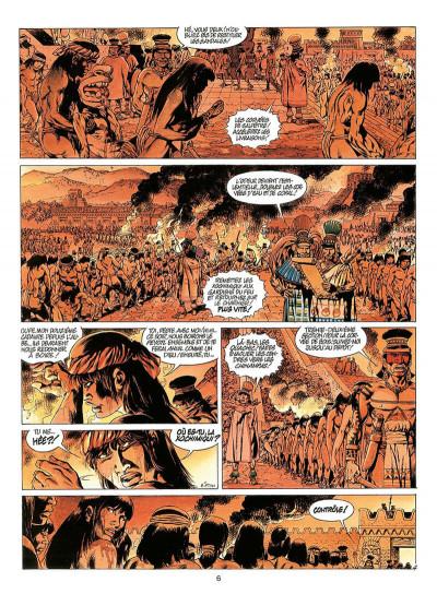 Page 9 quetzalcoatl tome 3 - les cauchemars de moctezuma