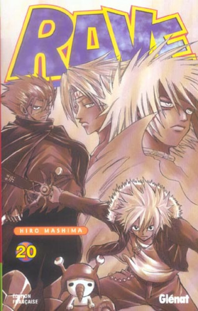Couverture rave tome 20