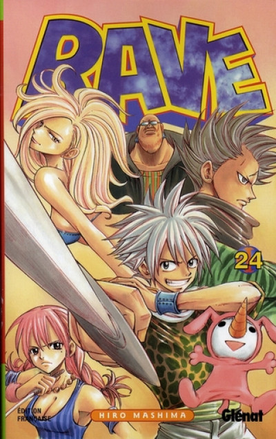 Couverture rave tome 24