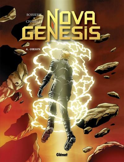 Couverture nova genesis tome 4 - orion
