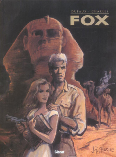 Couverture fox - intégrale tome 1 a tome 4