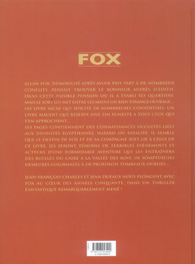 Dos fox - intégrale tome 1 a tome 4