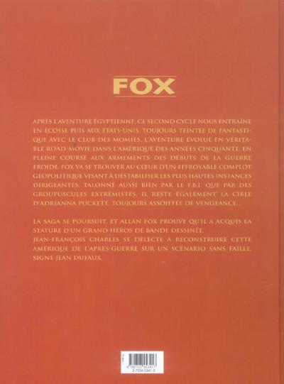 Dos fox - intégrale tome 5 à tome 7