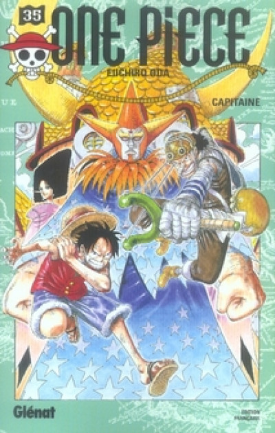 Couverture one piece tome 35 - capitaine