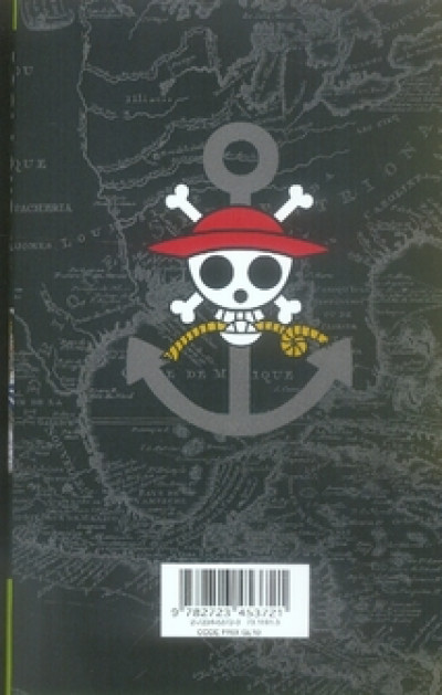 Dos one piece tome 35 - capitaine