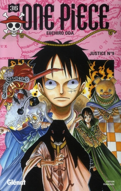 Couverture one piece tome 36 - justice nº9
