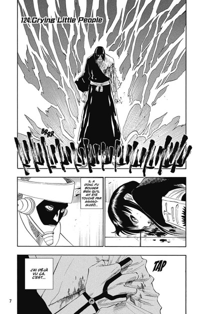 Page 8 bleach tome 15 - beginning of the death of tomorrow