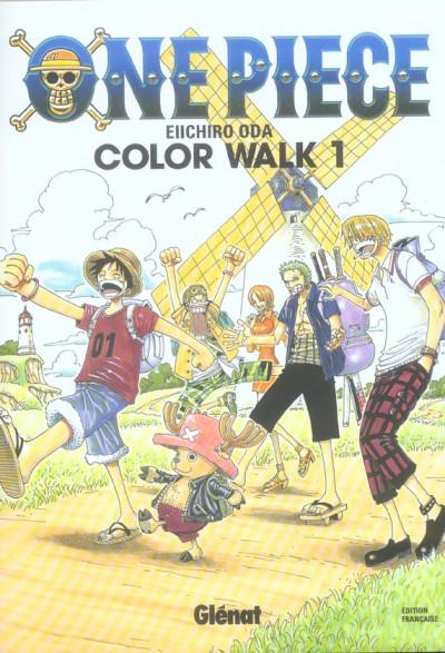 Couverture one piece color walk tome 1
