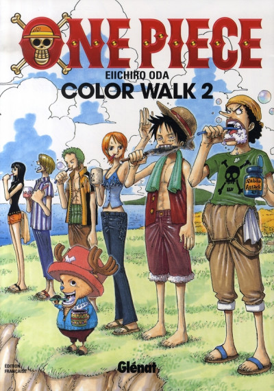 Couverture one piece color walk tome 2