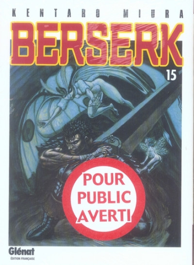 Couverture berserk tome 15