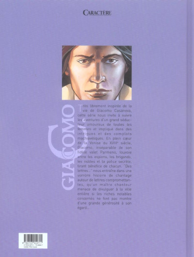 Dos giacomo c. tome 11 - des lettres