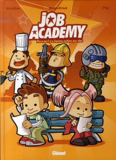 Couverture job academy tome 1