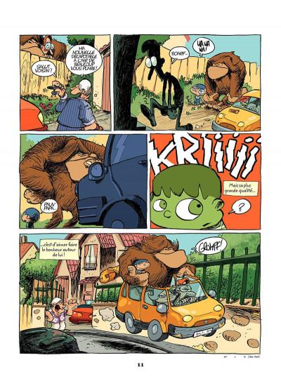 Page 0 mon ami grompf tome 1 - yéti de compagnie