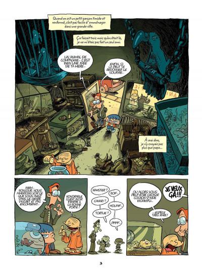 Page 2 mon ami grompf tome 1 - yéti de compagnie