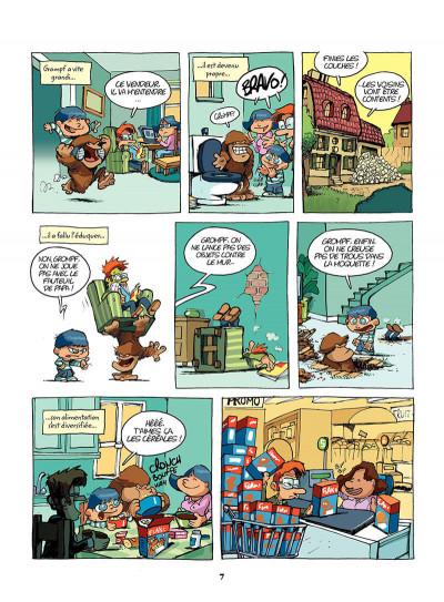Page 6 mon ami grompf tome 1 - yéti de compagnie