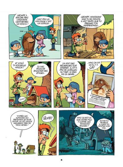 Page 7 mon ami grompf tome 1 - yéti de compagnie
