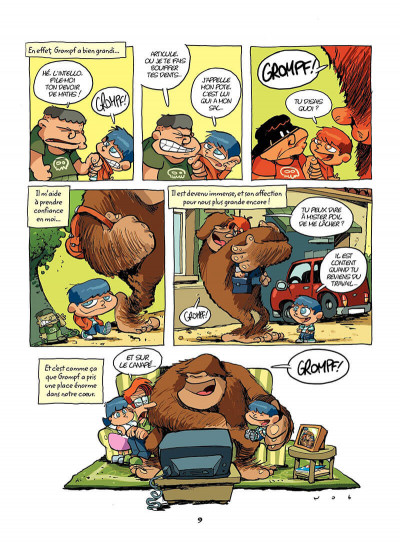Page 8 mon ami grompf tome 1 - yéti de compagnie
