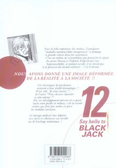Dos say hello to black jack tome 12