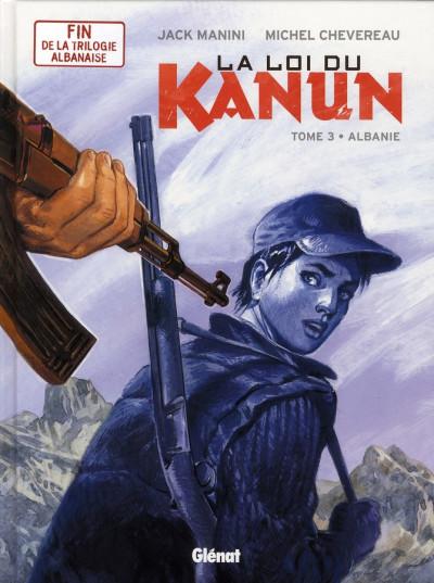 Couverture la loi du kanun tome 3 - albanie