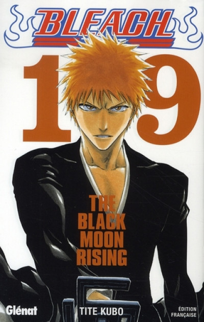 image de bleach tome 19 - the black moon rising