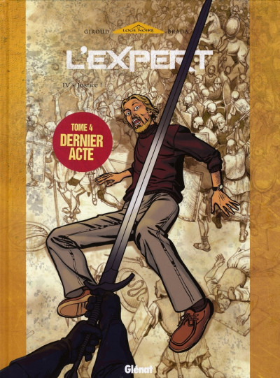 Couverture l'expert tome 4 - justice
