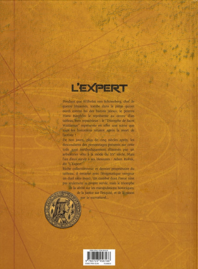 Dos l'expert tome 4 - justice