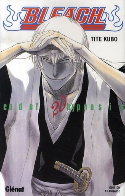 Couverture bleach tome 20 - end of hypnosis