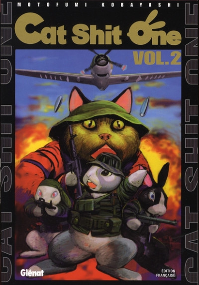 Couverture cat shit one tome 2